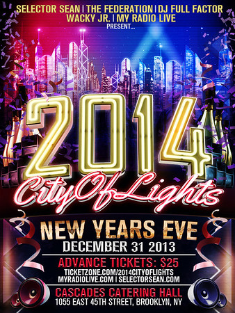 12/31/13 2014 City Of Lights