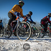 Start of the Men's Cat 4/5 race at teh 2013 Minnesota State Cyclocross Championships.