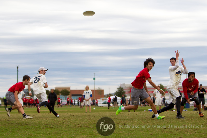 Day 2 Action from USA Ultimate National Championships in Frisco, Texas - Men's Division