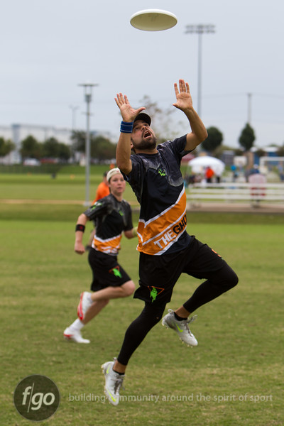 Day 2 Action from USA Ultimate National Championships in Frisco, Texas - Mixed Division