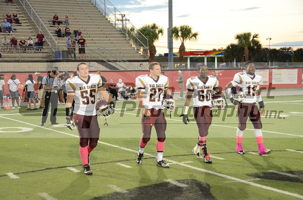 Astronaut HS Varsity Football 10-18-13