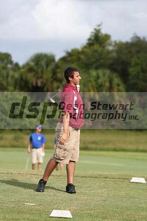 Boys Golf vs. Titusville 9-19-13