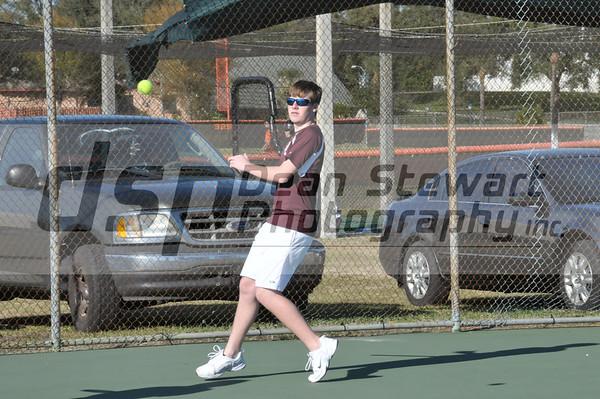 Boys Tennis @ Cocoa HS
