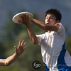 USA Johnny Bravo v Japan Liquios Open Division first round game on Monday at WFDF 2014 World Ultimate Club Championships in Lecco, Italy