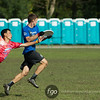 USA Johnny Bravo v Japan Nomadic Tribe Open Division game on Wednesday at WFDF 2014 World Ultimate Club Championships in Lecco, Italy