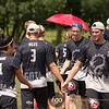 USA Drag'N Thrust v Germany Heidees Mixed Division game on Thursday at WFDF 2014 World Ultimate Club Championships in Lecco, Italy