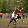 USA Johnny Bravo v Japan Buzz Bullets Open Division game on Thursday at WFDF 2014 World Ultimate Club Championships in Lecco, Italy