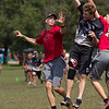Japan Sanz v USA Riot Women's Division at WFDF 2014 World Ultimate Club Championships in Lecco, Italy
