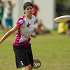 USA Godiva v Canada Vintage Women's Masters Division championship game on Friday at WFDF 2014 World Ultimate Club Championships in Lecco, Italy