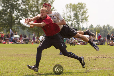8-8-14 USA Johnny Bravo v USA Revolver Open Division Friday Semis at WFDF 2014 World Ultimate Club Championships