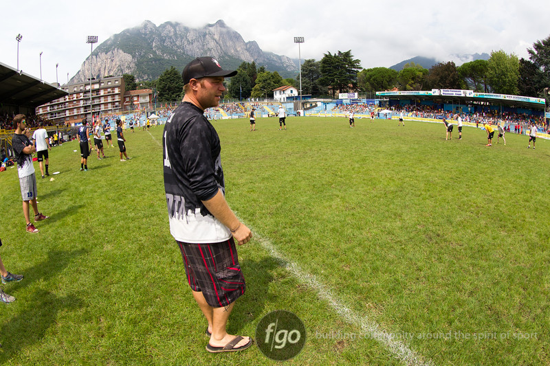 USA Polar Bears v USA Drag'N Thrust Mixed Division championship game on Saturday at WFDF 2014 World Ultimate Club Championships in Lecco, Italy