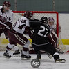 St. Paul Johnson v Minneapolis Novas Hockey at Parade Ice Garden on December 17, 2014