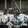Blake School versus Minneapolis Novas boys hockey at Parade Ice Garden