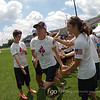 Boston Brute Squad v Seattle Riot Women's Division championship finals of the USA Ultimate 2014 US Open in Blaine, Minnesota