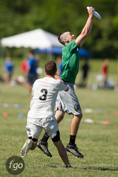 USA Ultimate D1 College Championships in Mason, Ohio - Day 1 Action