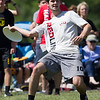 USA Ultimate D1 College Championships in Mason, Ohio - Day 1 - Harvard Redline v Colorado Mambird