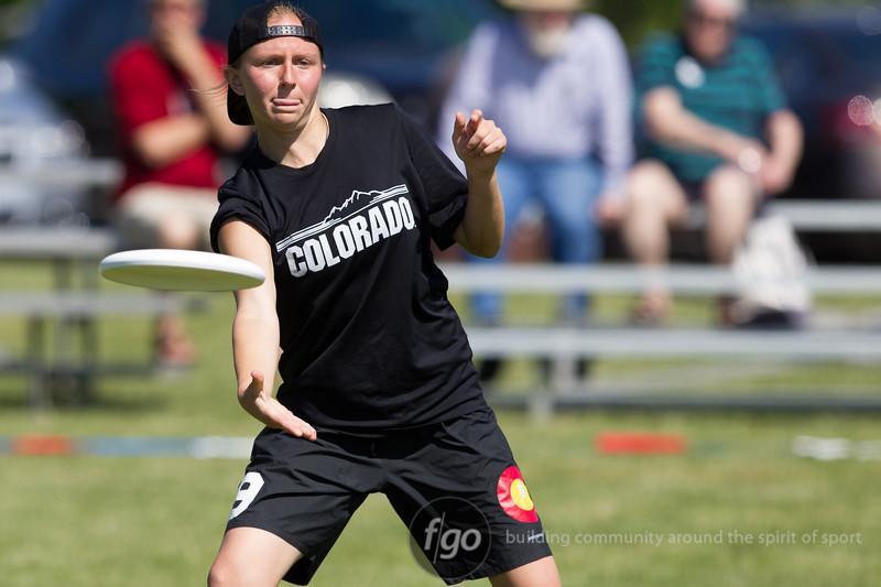 USA Ultimate D1 College Championships - Day 2 - Carleton Syzygy v Colorado Kali