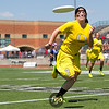USA Ultimate D1 College Championships in Mason, Ohio - Semi-finals Women's Division - Central Florida Sirens v Oregon Fugue