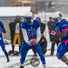 Minneapolis North Polars v Dawson-Boyd Blackjacks at Minnesota State High School League State Class A semi-final football game at Hopkins High School on November 15, 2014