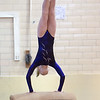 Minneapolis City Gymnastics Meet at Southwest High School on November 26, 2014