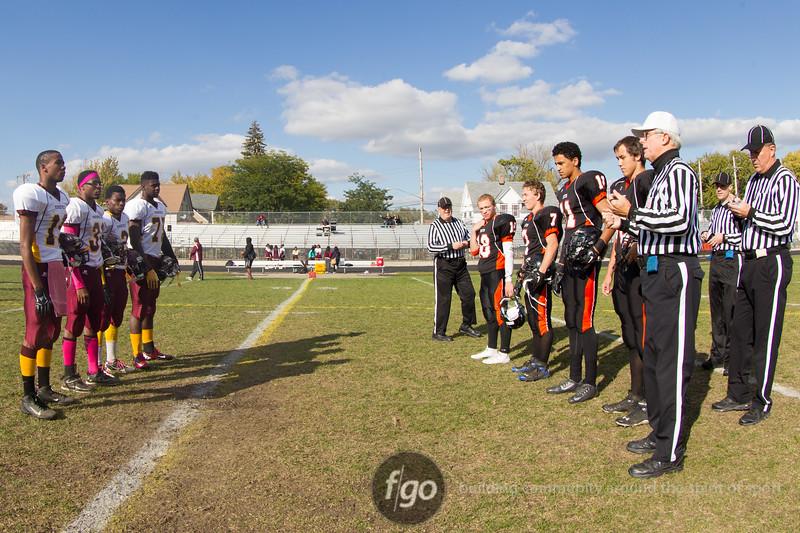 Minneapolis Roosevelt at Minneapolis South Football on 10 Oct 2014