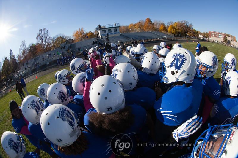 10-21-14 Kimball v Minneapolis North Football Sectionals