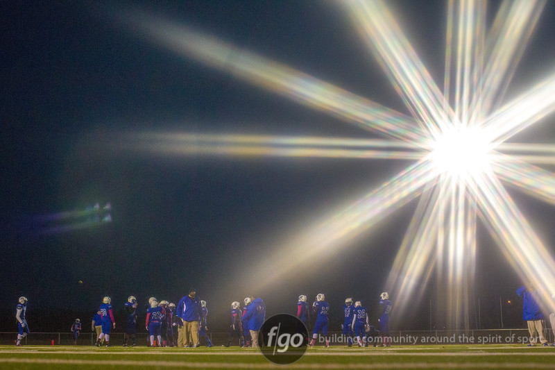 Minneapolis North v Lester Prairie/Holy Trinity Section 4A Football Championship at Sauk Centre on 31 October 2014