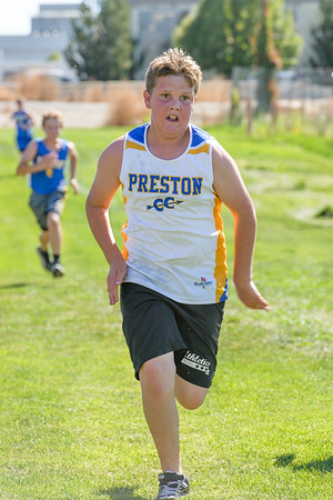 Cache Box Cross Country Meet - Preston Middle School