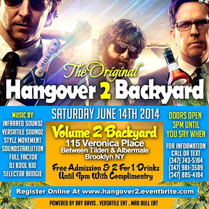 "06/14/14 Hangover 2 ""backyard edition"""