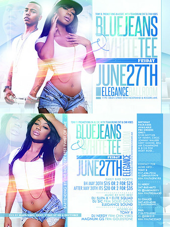 06/27/14 Blue Jeans White Tees