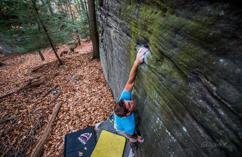 Mountaineers Route_Joey Williams_Coopers Rocks_WV_photos by Gabe DeWitt_October 28, 2014-3