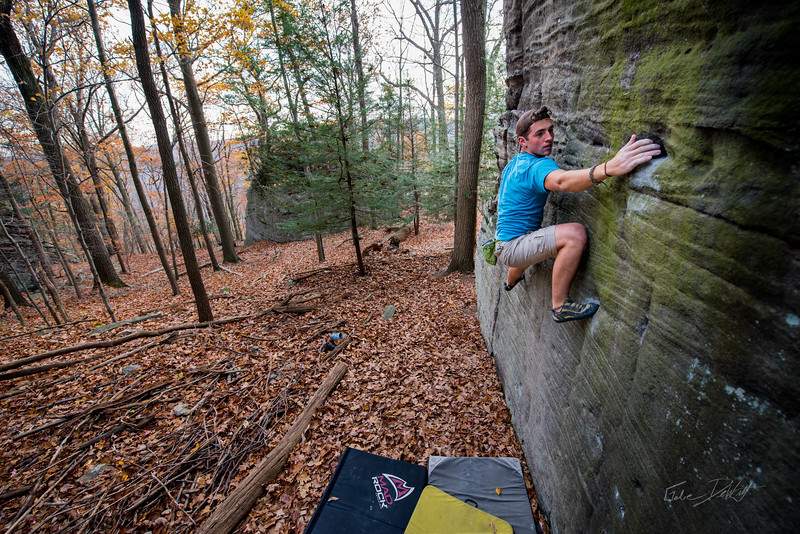 Mountaineers Route_Joey Williams_Coopers Rocks_WV_photos by Gabe DeWitt_October 28, 2014-2