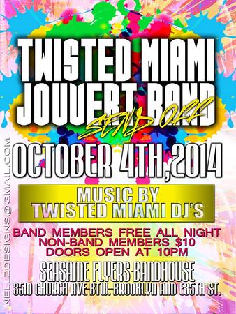 10/04/14 Twist Miami Jouvert Sendoff