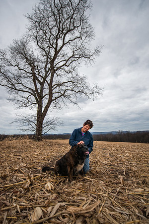 Tara Smith_Tree in a field_West Virginia_photos by Gabe DeWitt_November 30, 2014-54