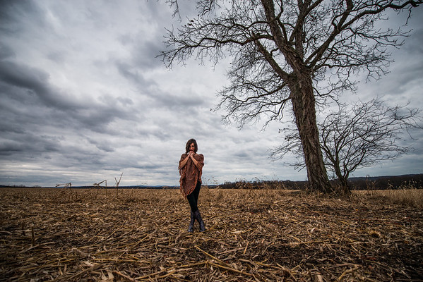 Tara Smith_Tree in a field_West Virginia_photos by Gabe DeWitt_November 30, 2014-59