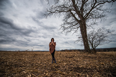 Tara Smith_Tree in a field_West Virginia_photos by Gabe DeWitt_November 30, 2014-59