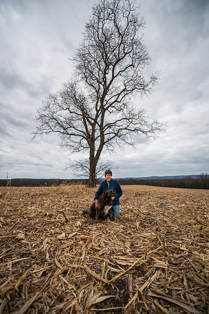 Tara Smith_Tree in a field_West Virginia_photos by Gabe DeWitt_November 30, 2014-48
