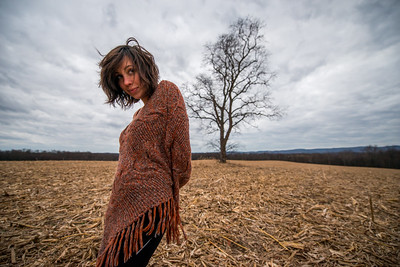 Tara Smith_Tree in a field_West Virginia_photos by Gabe DeWitt_November 30, 2014-76