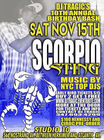 11/15/14 Scorpio Sting