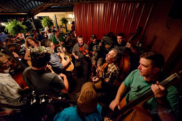 Blue Grass Night_Morgantown Brewing Company_West Virginia_photo by Gabe DeWitt_August 20, 2014-19