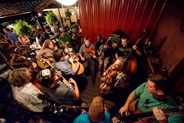 Blue Grass Night_Morgantown Brewing Company_West Virginia_photo by Gabe DeWitt_August 20, 2014-23
