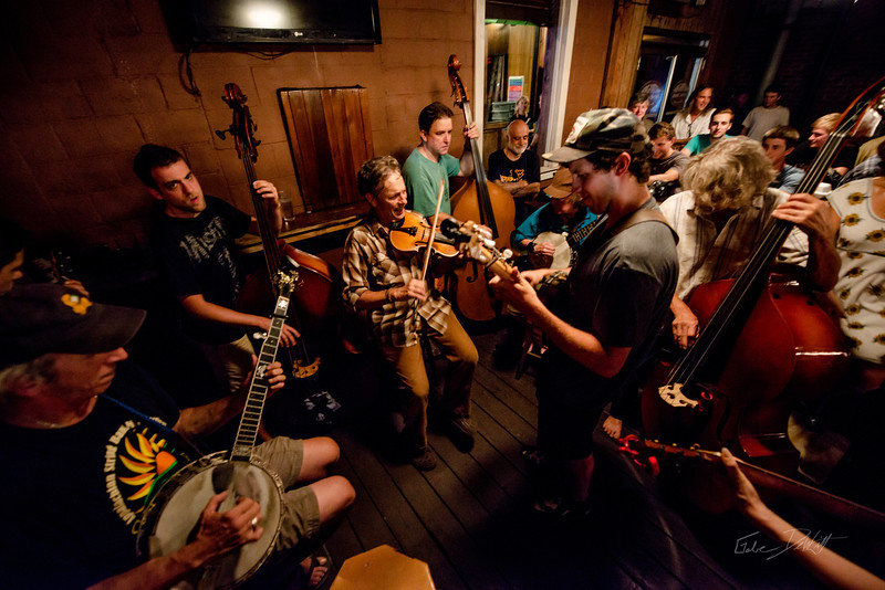 Blue Grass Night_Morgantown Brewing Company_West Virginia_photo by Gabe DeWitt_August 20, 2014-52
