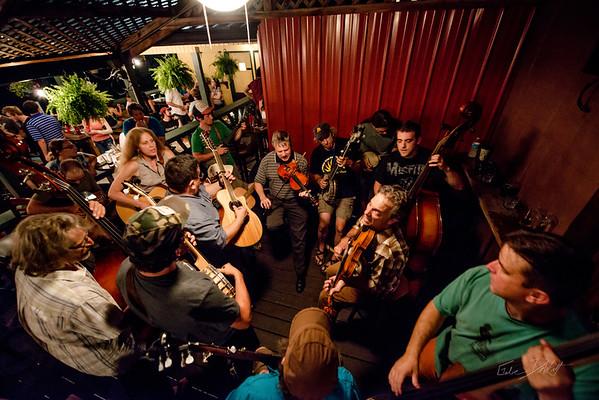 Blue Grass Night_Morgantown Brewing Company_West Virginia_photo by Gabe DeWitt_August 20, 2014-21