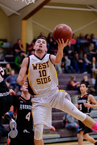 West Side 69 v  Aberdeen 42-150