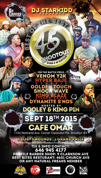 09/18/15 45 Shoot Out