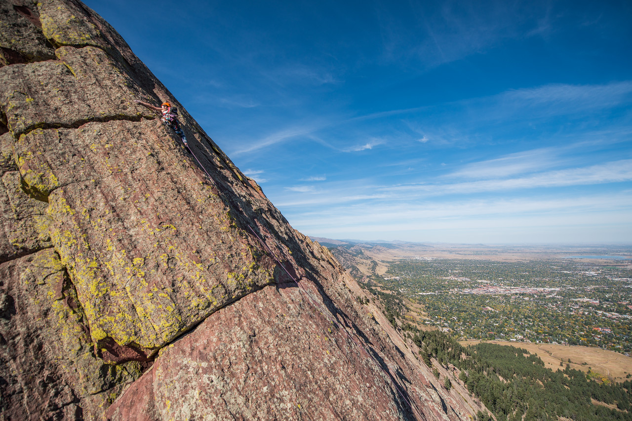 the; 3rd; Flat; Iron; Boulder; 131; Adventure; Adventure Photography; Boulder; CO; Colorado; Favorite things; Flat Irons; Gabe DeWitt; October; People; Places; Rock Climbing; adventure sports; climbers; climbing; rocks