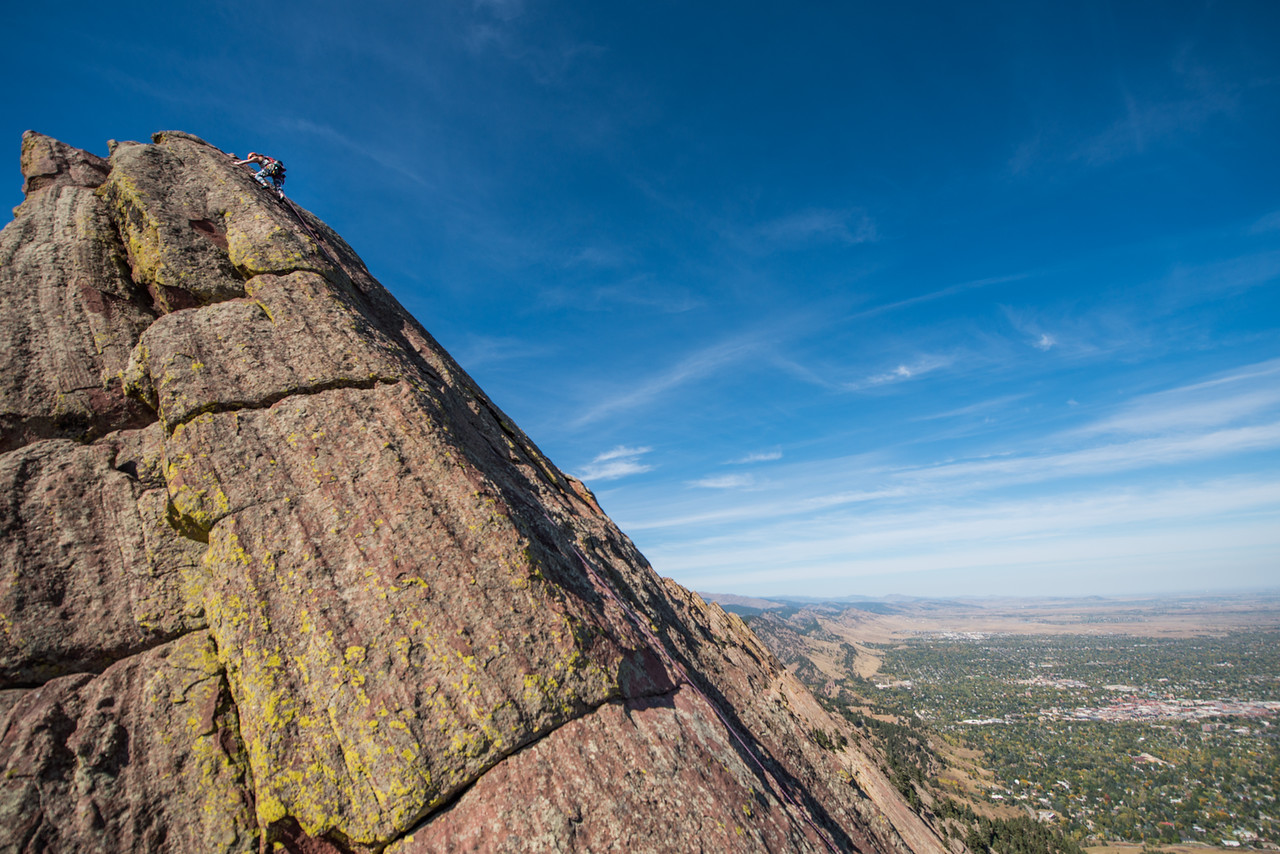 the; 3rd; Flat; Iron; Boulder; 160; Adventure; Adventure Photography; Boulder; Brittany Armentrout; CO; Colorado; Favorite things; Flat Irons; Gabe DeWitt; October; People; Places; Rock Climbing; adventure sports; climbers; climbing; rocks