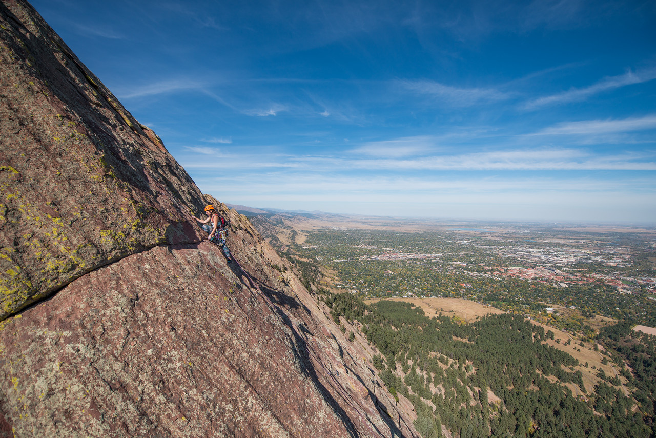 the; 3rd; Flat; Iron; Boulder; Adventure; Adventure Photography; Boulder; CO; Colorado; Favorite things; Flat Irons; Gabe DeWitt; October; People; Places; Rock Climbing; adventure sports; climbers; climbing; rocks