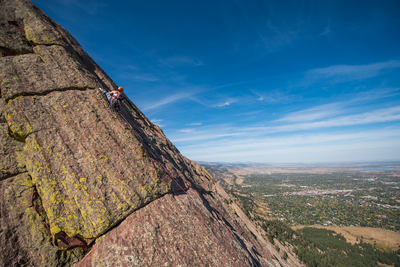 the; 3rd; Flat; Iron; Boulder; 119; Adventure; Adventure Photography; Boulder; CO; Colorado; Favorite things; Flat Irons; Gabe DeWitt; October; People; Places; Rock Climbing; adventure sports; climbers; climbing; rocks