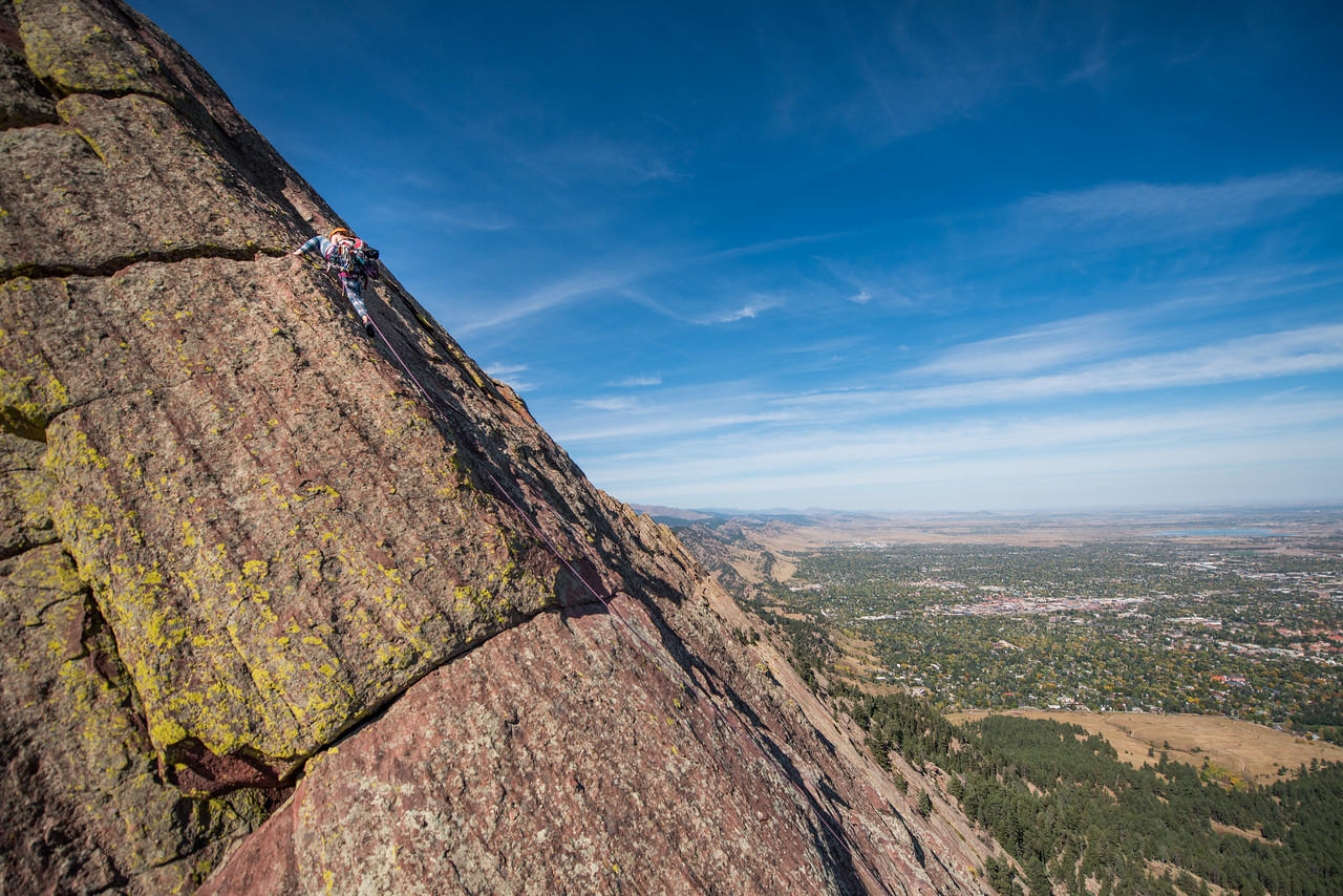 the; 3rd; Flat; Iron; Boulder; 125; Adventure; Adventure Photography; Boulder; CO; Colorado; Favorite things; Flat Irons; Gabe DeWitt; October; People; Places; Rock Climbing; adventure sports; climbers; climbing; rocks